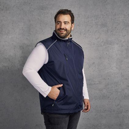 Veste sans manches Reversible C+ grandes tailles Hommes