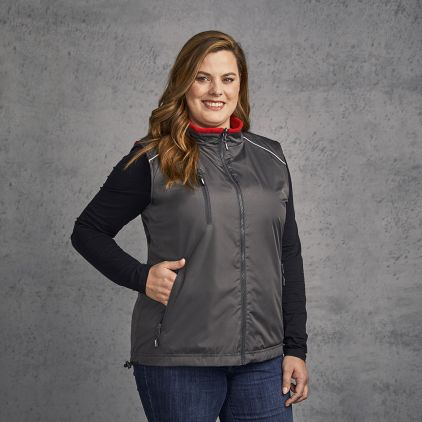 Reversible Weste C+ Plus Size Damen