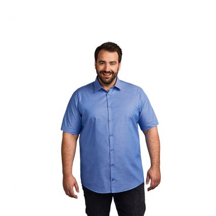 Oxford Kurzarm-Hemd Plus Size Workwear Herren