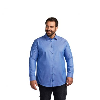Oxford Langarm-Hemd Plus Size Workwear Herren