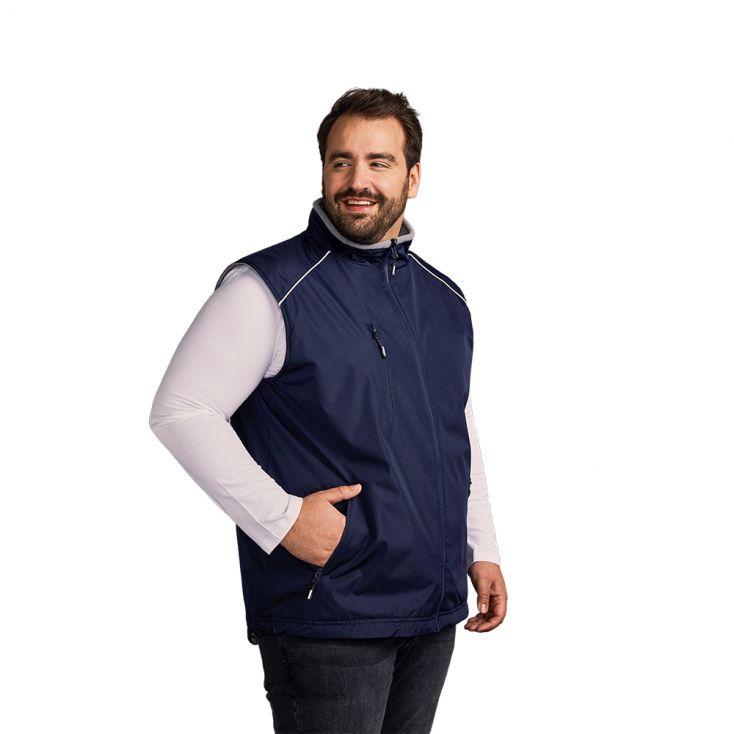 Reversible Weste C+ Workwear Plus Size Herren