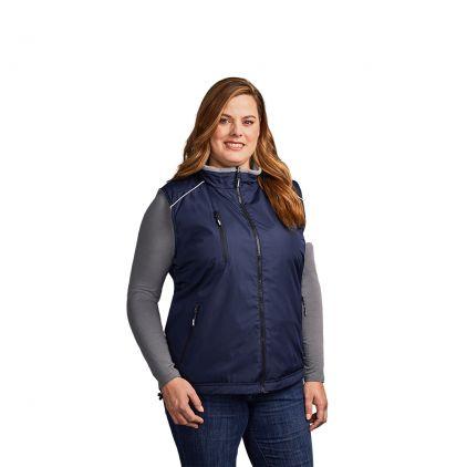 Veste sans manches Reversible C+ workwear grandes tailles Femmes