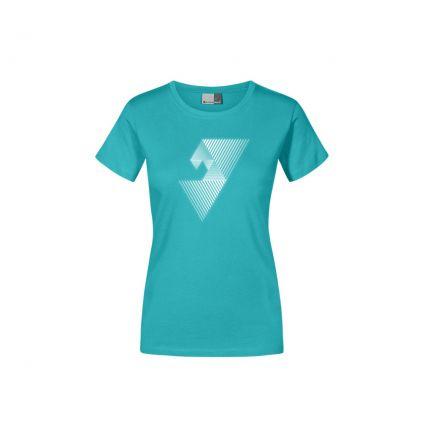 """Réflectif """"balance mental"""" T-shirt Premium grandes tailles Femmes"""