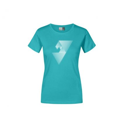 "Reflective ""balance mental"" Premium T-Shirt Plus Size Damen"