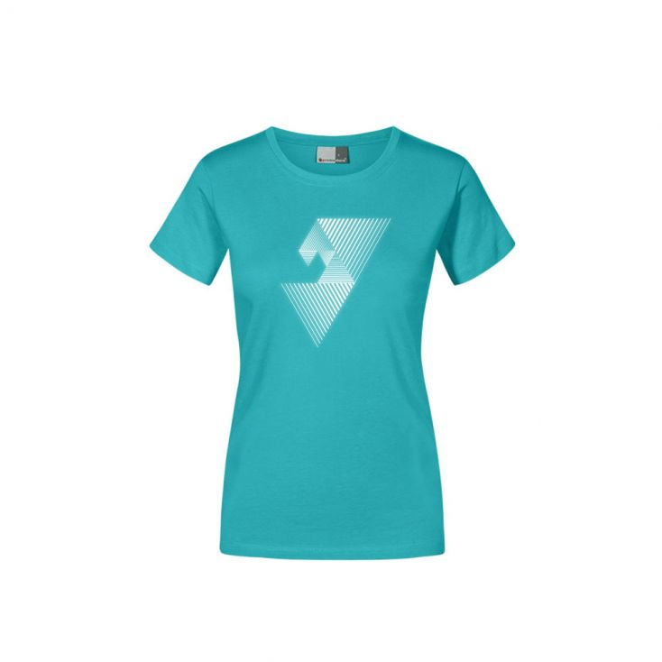 "Reflective ""balance mental"" Premium T-shirt Plus Size Women"