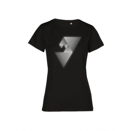 "Reflective ""balance mental"" UV-Performance T-shirt Plus Size Women"