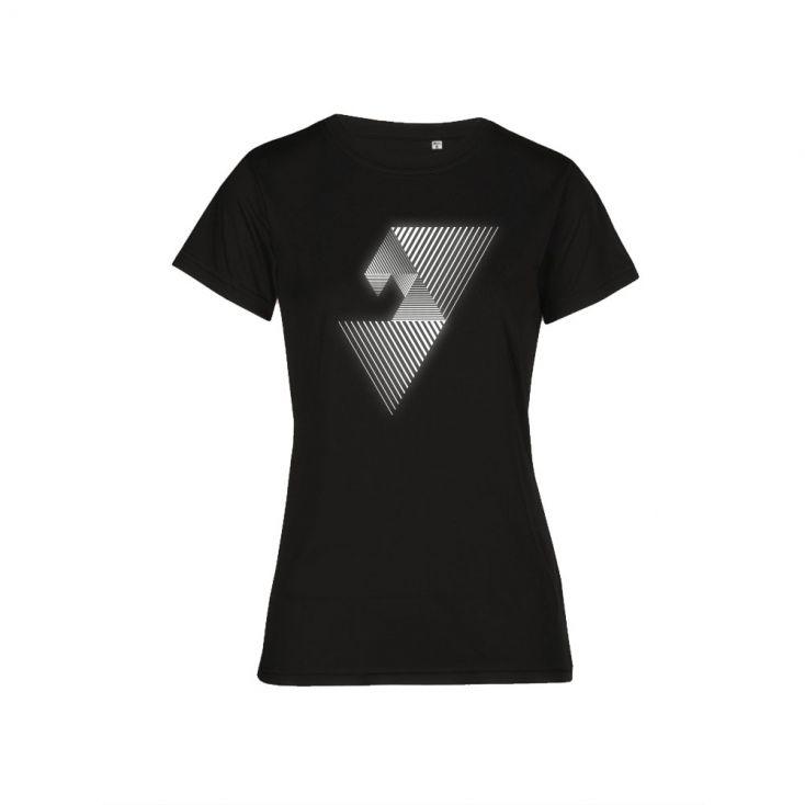 "Reflective ""balance mental"" UV-Performance T-Shirt Plus Size Damen"