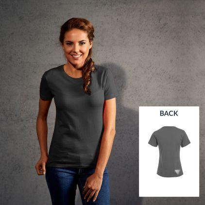 "Reflective ""marathon winner"" Premium T-Shirt Damen"