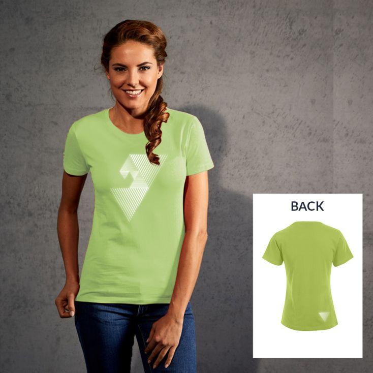"Reflective ""mental focus"" Premium T-Shirt Damen"