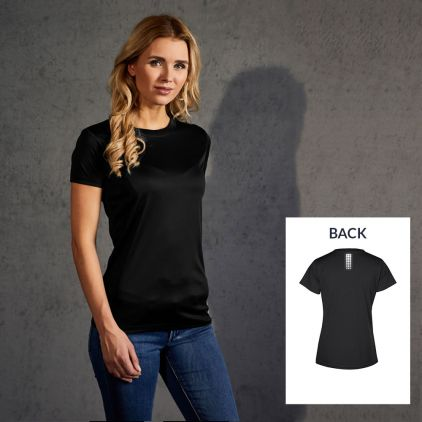 "Reflective ""race point"" UV-Performance T-shirt Women"