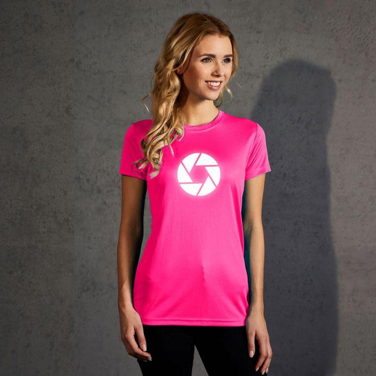 """Réfléchissant """"cirlce"""" T-shirt UV-Performance Femmes"""