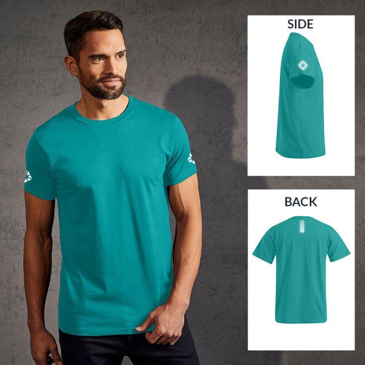 """Réflectif """"run out"""" T-shirt Premium Hommes"""