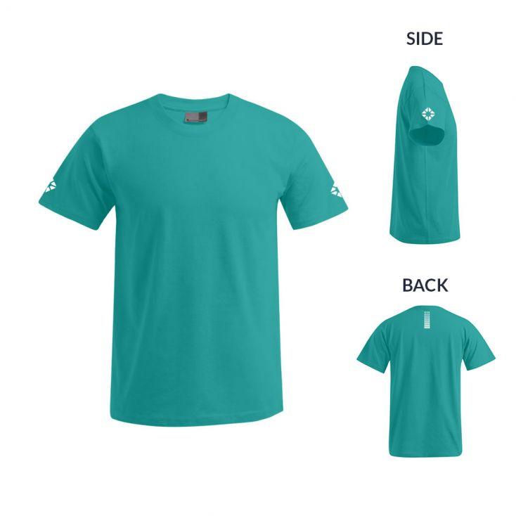 """Reflective """"run out"""" Premium T-shirt Plus Size Men"""
