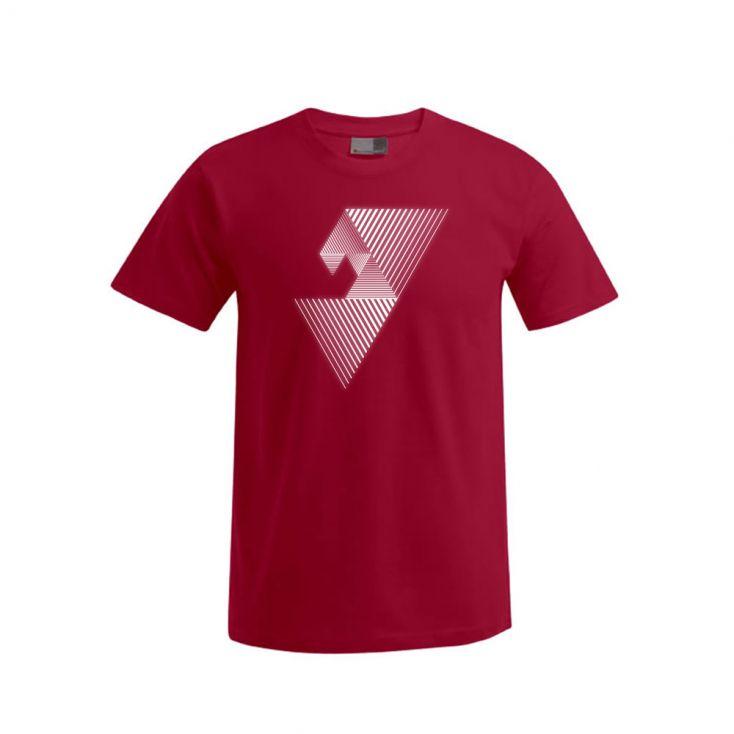 "Reflective ""balance mental"" Premium T-Shirt Plus Size Herren"