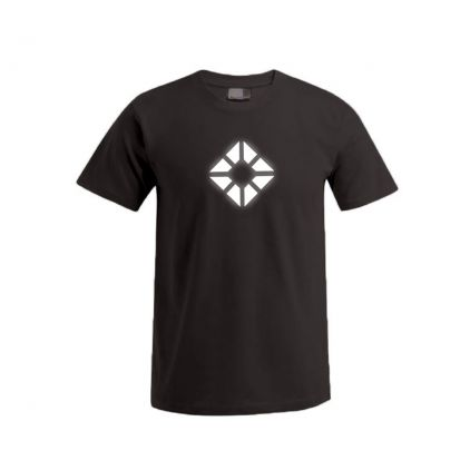 "Reflective ""next level"" Premium T-Shirt Plus Size Herren"