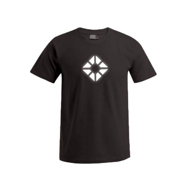 "Reflective ""next level"" Premium T-Shirt Plus Size Herren"