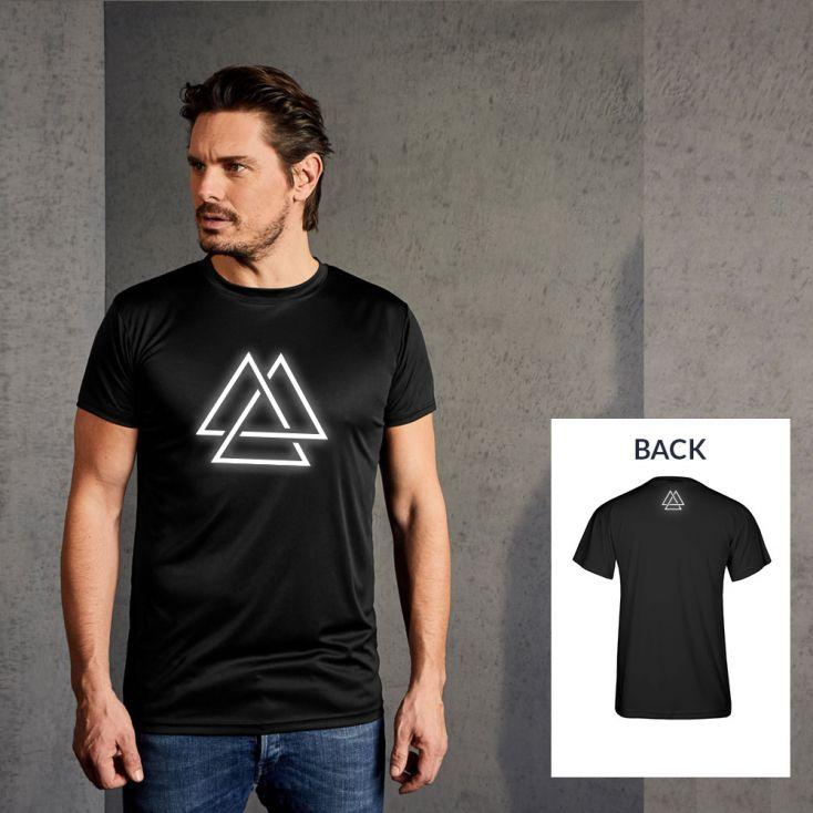 "Reflective ""training goal"" UV-Performance T-shirt Men"