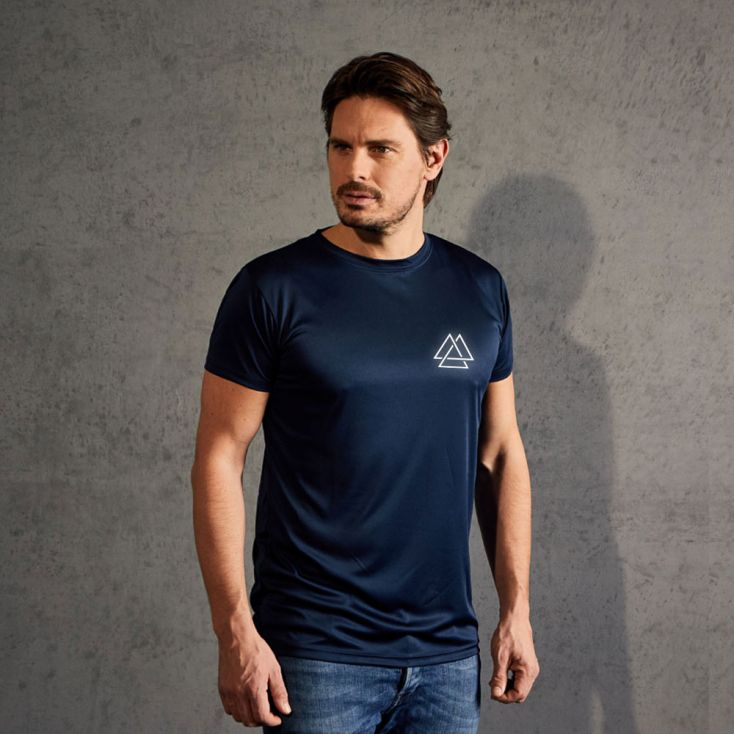 "Réflectif ""training goal"" T-shirt UV-Performance Hommes"