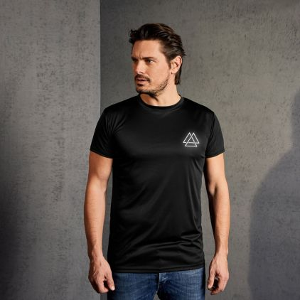 "Réflectif ""training goal"" T-shirt UV-Performance Hommes"