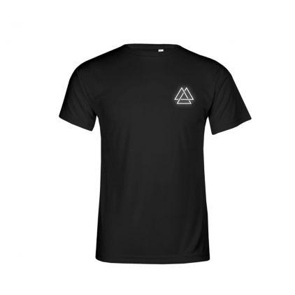"Reflective ""training goal"" UV-Performance T-Shirt Plus Size Men"