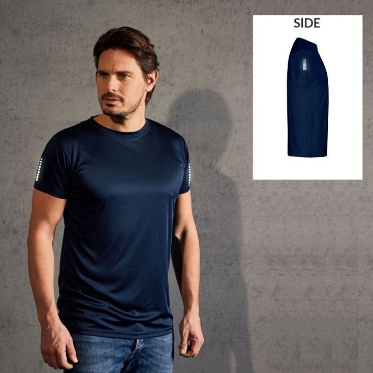 """Réflectif """"race points"""" T-shirt UV-Performance Hommes"""