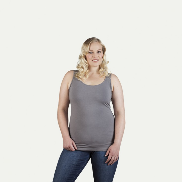Débardeur Jersey simple grande taille Femmes