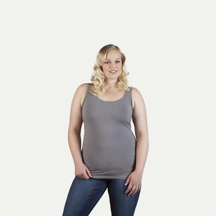 Single-Jersey Tank Top Plus Size Frauen