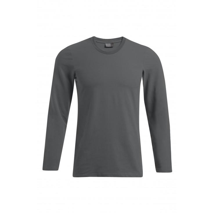 Slim-Fit Langarmshirt Plus Size Herren