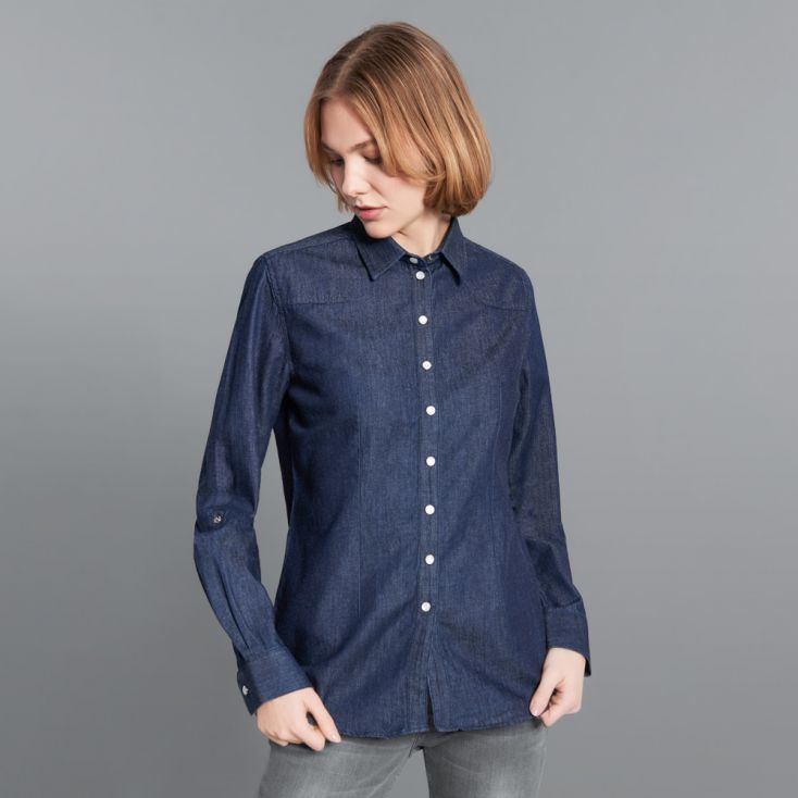 Denim Shirt Women