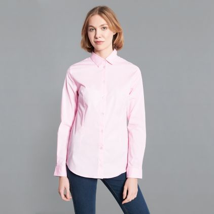 Slim-Fit Bluse Damen