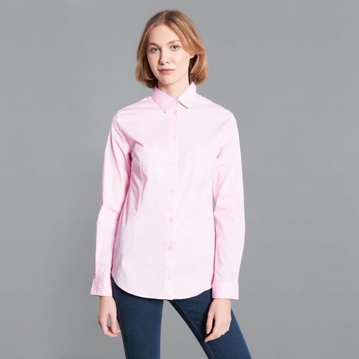 Slim-Fit Blouse Women