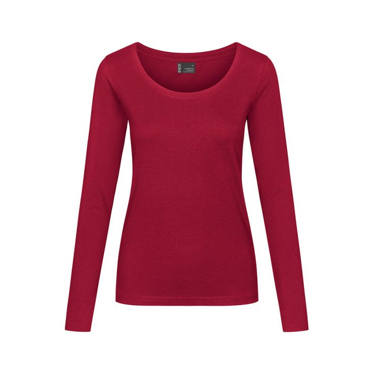 EXCD T-shirt manches longues grandes tailles Femmes