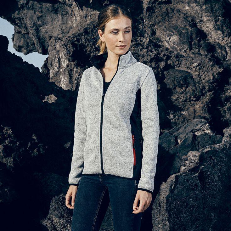 Knit Jacket Workwear Women