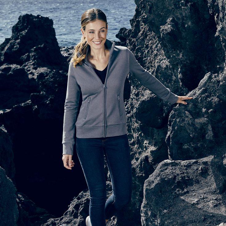 Stand-Up Collar Jacket Women