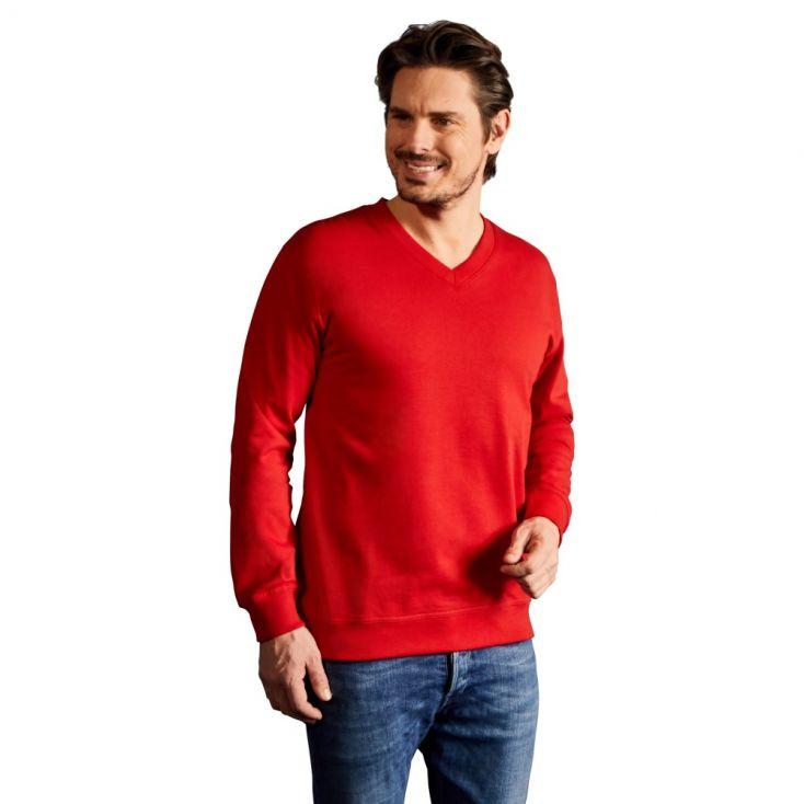 Premium V-Ausschnitt Sweatshirt Herren Sale