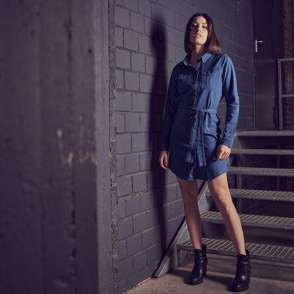 Jeans Dress Women