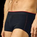Abbildung einer schwarzen Herren Boxershort von promodoro