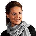 Jersey scarves for women in different colors