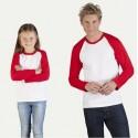 promodoro t-shirts à manches longues pour le père et l'enfant dans le look partenaire.