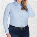Photo d'une chemise business pour femmes en grandes tailles