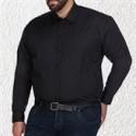 Chemises business pour hommes en grandes tailles