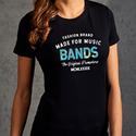 """Original Print T-Shirts für Damen von promodoro """"back to the roots"""" in vielen Größen und Farben -Versandkostenfrei -Versand innerhalb von 24h"""