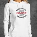 achetez maintenant  sweats a capuche imprimé promodoro pour Femmes - Livraison gratuite a partir de 30,00€ - conçu en Allemagne - Livraison sous 24h