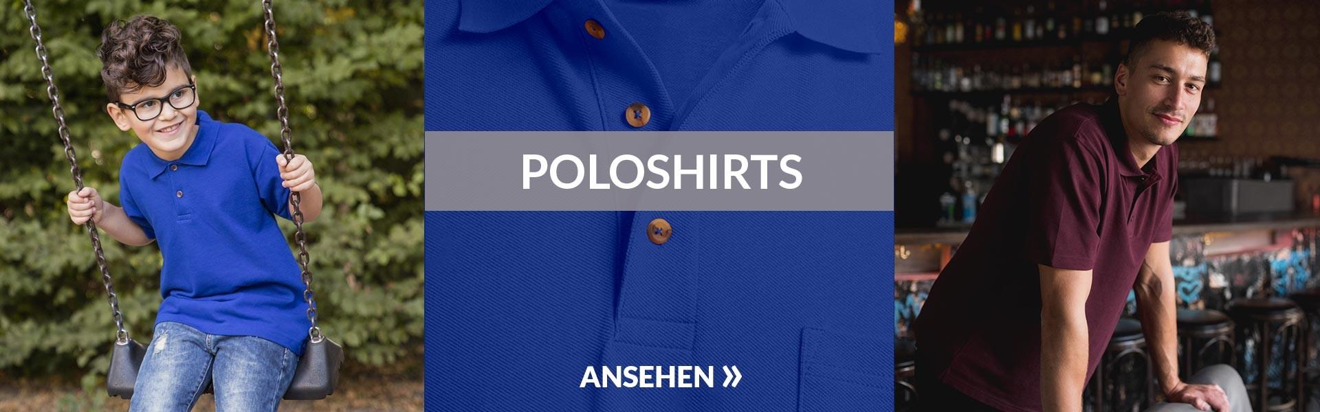 Herren Poloshirts promodoro