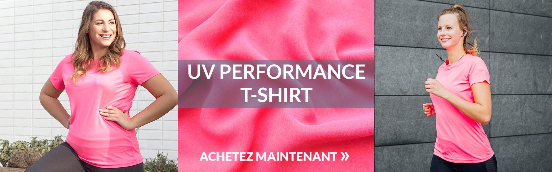 T-Shirts Sport Femme promodoro