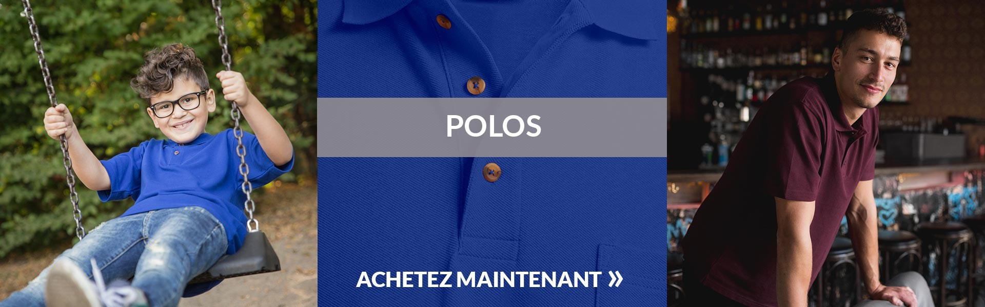 Polos homme promodoro