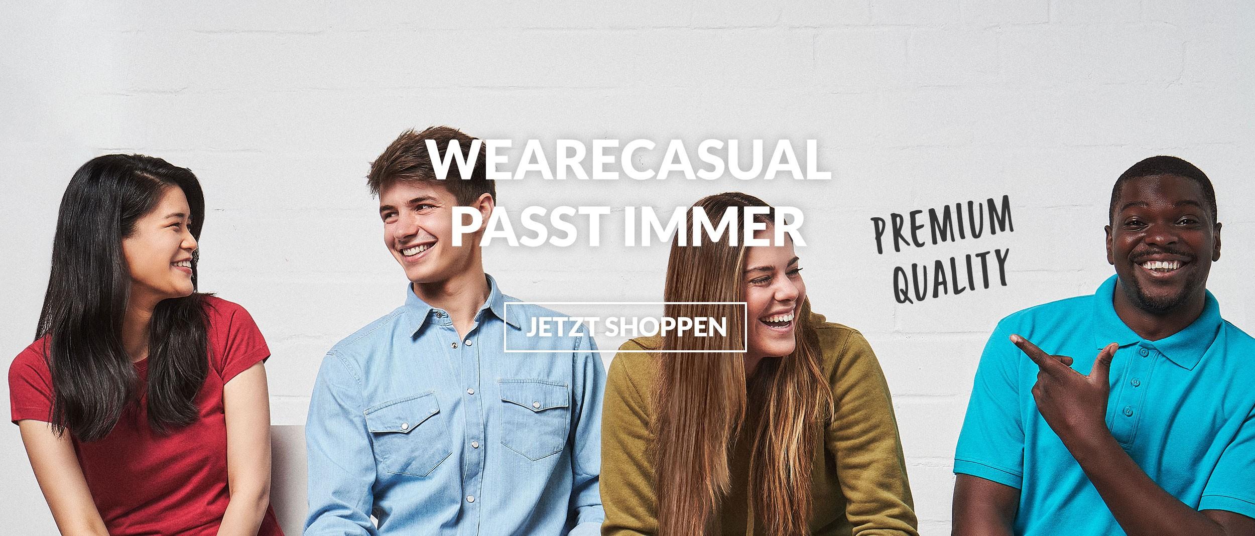 WEARECASUAL - JETZT SHOPPEN