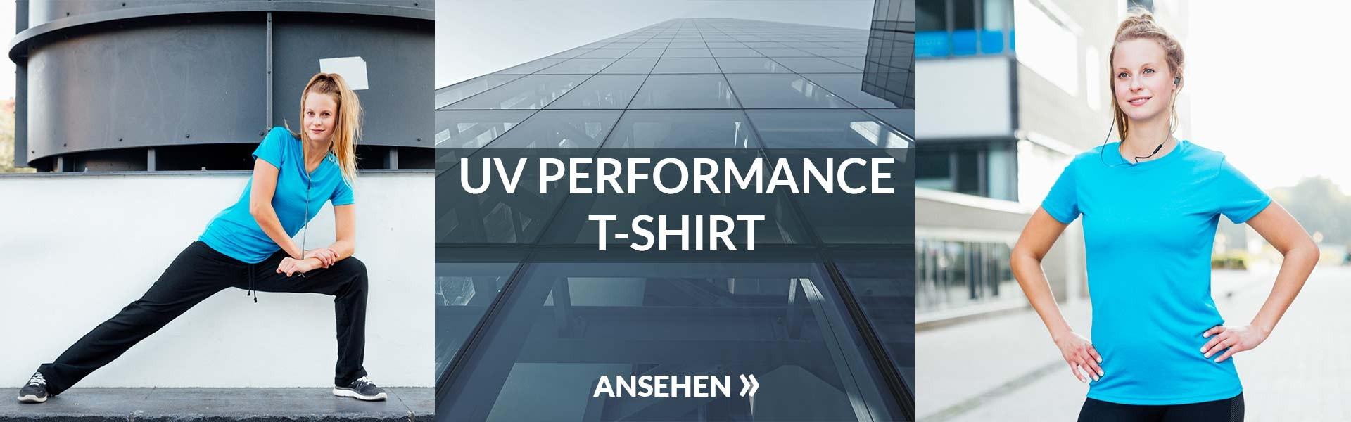 Uv Performance T-shirt Damen